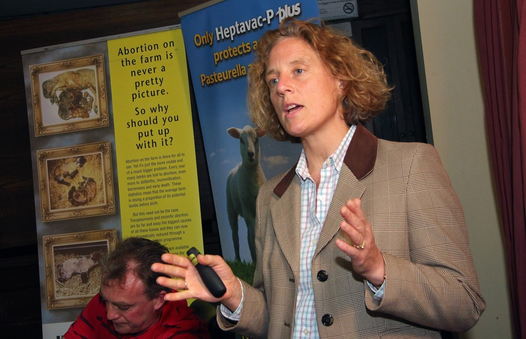 Fiona Lovett, UK Sheep Consultant speaks on Footrot